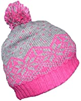 Girls Pom Pom Hat Thick and Warm Three Colours One Size 6-12 years