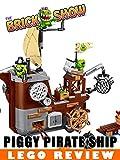LEGO Angry Birds Piggy Pirate Ship Review (75825)