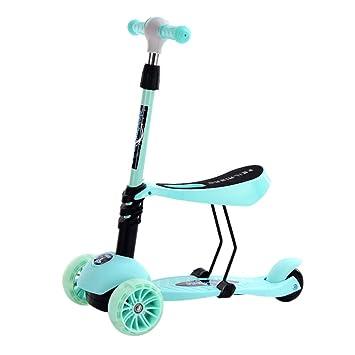 WCYTOYS Scooter para Niños 3-en-1 Patinete para Niños ...