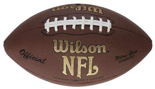 Wilson Football NFL Tackified Composite, rot F1900X