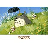Ensky 500-220 My Neighbor Totoro A Work of Art 1988 Jigsaw Puzzle (500 Pieces)