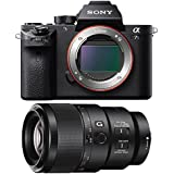 Sony a7S II Full-frame Mirrorless Interchangeable Lens Camera Body 90mm Lens Bundle includes a7S II Body and FE 90mm F2.8 Macro G OSS Full-frame E-mount Macro Lens
