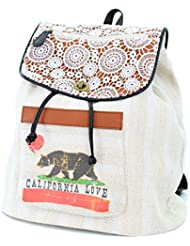 California Love Drawstring Fashion Backpack