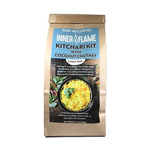 Inner Flame Organic Ayurvedic Kitchari Kit - VEGAN-GLUTEN FREE