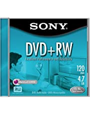 Sony DVD+RW 4X Rewritable (Single)