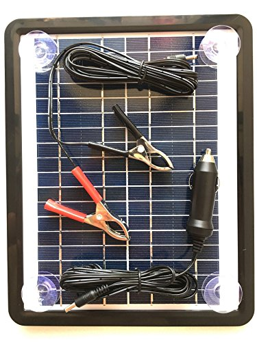 12 Volt Solar Battery Charger For Campers - 5
