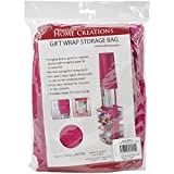 Innovative Home Creations Gift Wrap Storage Holder, Fuchsia