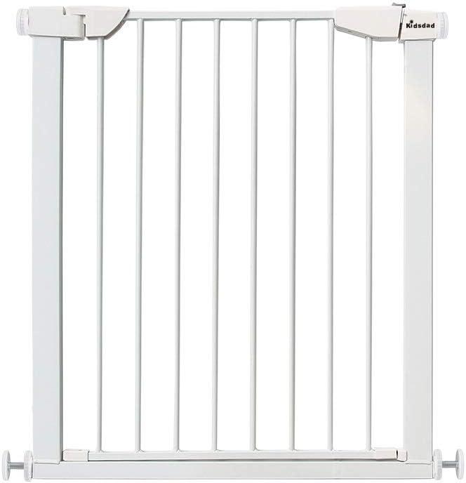 ベビーフェンス マルチ使用エクストラトール安全ゲート、オートクローズ安全ベビーゲート、エクストラトールおよびワイド子供の門 ペットゲート (Size : 117-124cm)