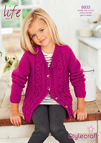 Amazon Stylecraft Childrens Ladies Cardigan Life Knitting