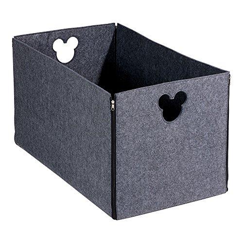 Disney Silhouette Punch - Ethan Allen | Disney Fantastic Felt Storage Basket, Steel