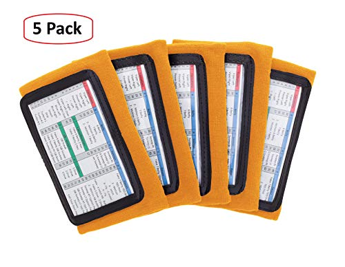 Football Playbook Wristband with 3 Compartments for Adults Pro Athletics QB Wristband