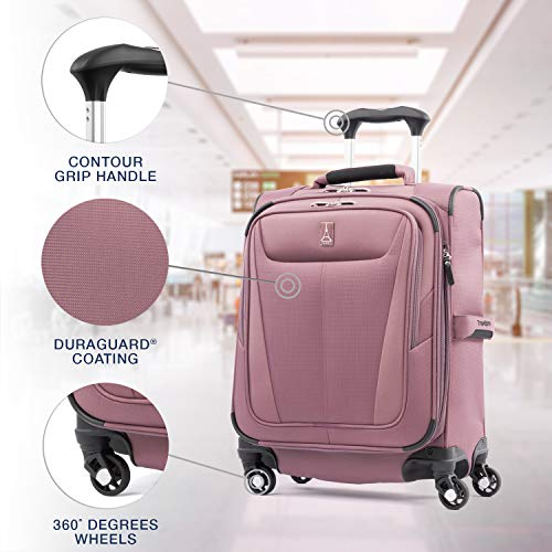 5158Y8ikc2L - Travelpro Luggage International Carry-on, Dusty Rose