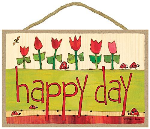 (SJT ENTERPRISES, INC. Happy Day (Ladybugs & Red Tulips) 7