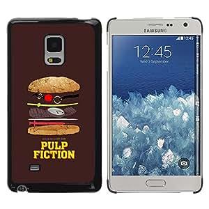 TECHCASE**Cubierta de la caja de protección la piel dura para el ** Samsung Galaxy Mega 5.8 9150 9152 ** Movie Parody Funny Symbol Junk Food