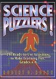 Science Puzzlers!, Grades 4-8, Robert G. Hoehn, 087628859X
