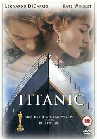 Image result for titanic movie dvd