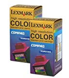 Lexmark 12A1980 Color Ink Cartridge Twin Pack, Office Central