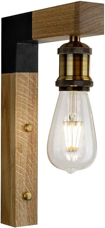 Lámpara de Pared, Aplique Iluminación Nocturna Luz Interior de ...