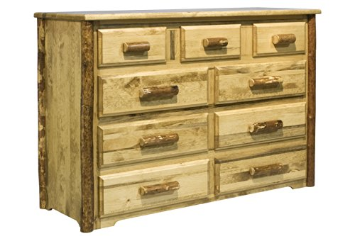 Montana Woodworks Glacier Country Collection 9-Drawer Dresser (Outdoor Dresser)