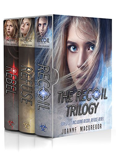 The Recoil Trilogy 3 Book Boxed Set: Including Recoil, Refuse and Rebel cover