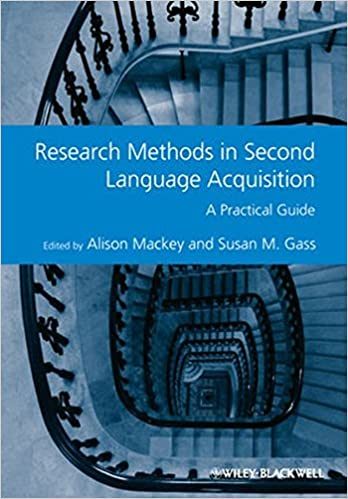 Book Research Methods in Second Language Acquisition: A Practical Guide