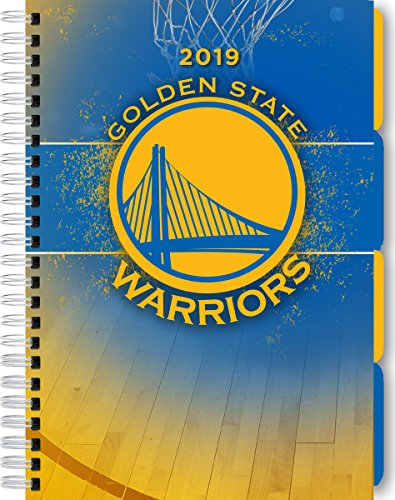 Turner 1 Sport Golden State Warriors 2019 Tabbed Planner Personal Organizer (19998420233)