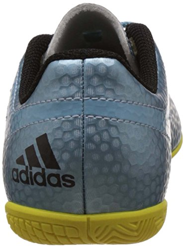 adidas Messi 15.4 In J - Botas para niño Azul / Plata / Amarillo / Negro