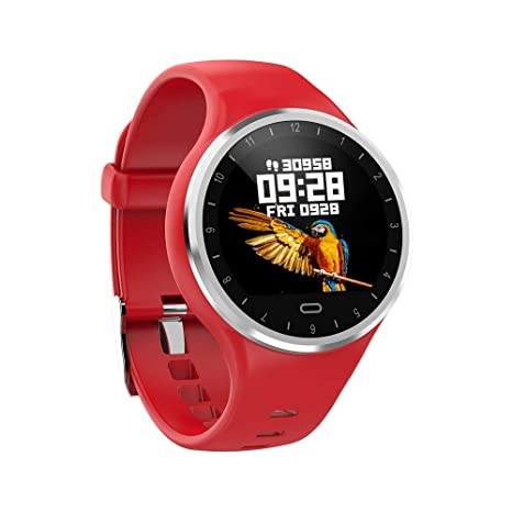 Amazon.com: Reloj de fitness con monitor de frecuencia ...