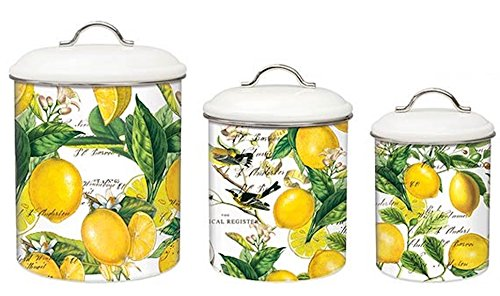 Yellow Canisters Sets Amazon Com