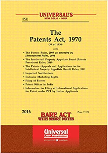 indian patent act 2016