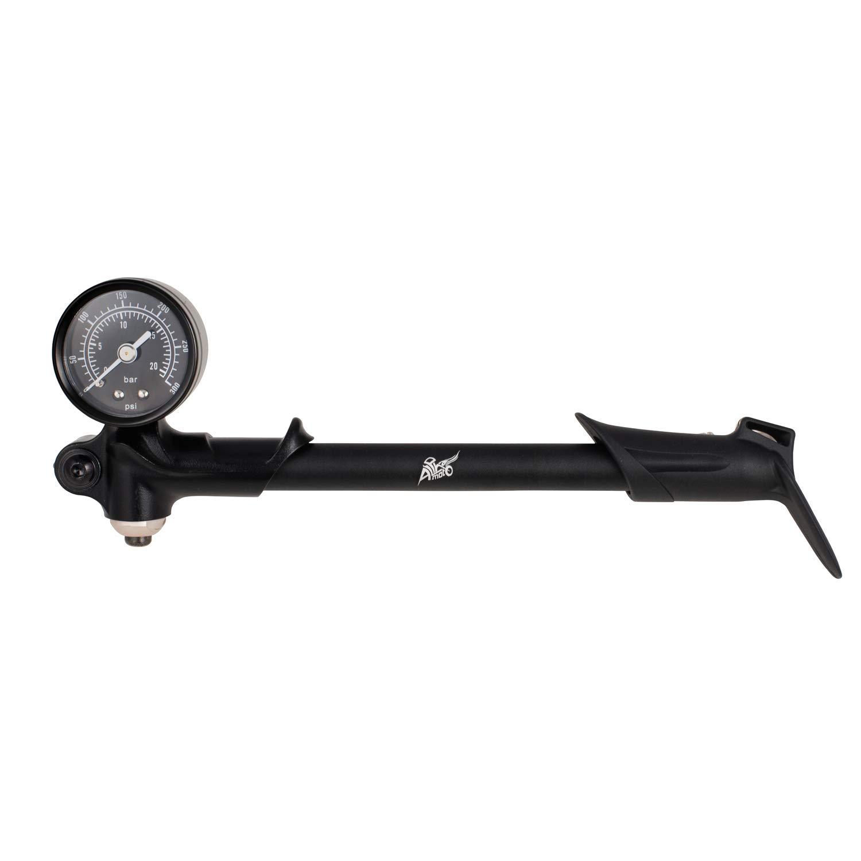 for Fork  Rear Suspension GIYO High Pressure Shock Pump, Lever L 300 PSI Max