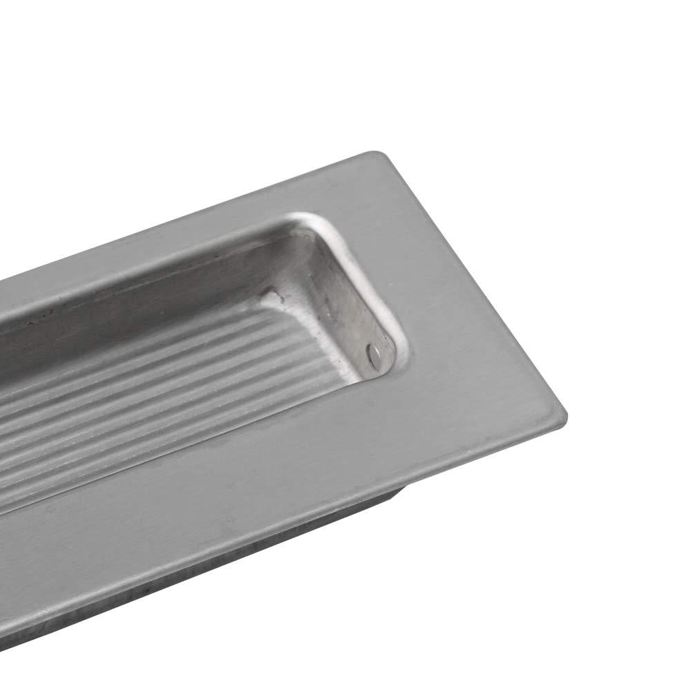 Tiradores rectangulares empotrados para puertas y cajones Mxfans