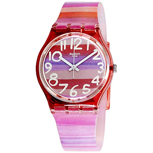 Swatch Atilbe Graphic Dial Plastic Quartz Ladies Watch GP140