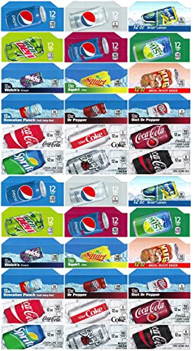 Vending-World - 36x Flavor Strip for 12 oz Cans Soda Pepsi Coke Vending, fits Dixie Narco, - Soda Machine Labels Vending