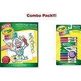 Crayola Color Wonder Drawing Paper-30 Sheets + Free Crayola Color Wonder 10 Mini Markers
