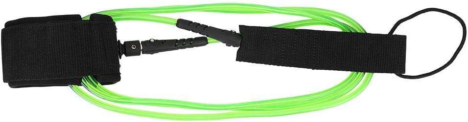 Elastic Surfboard Leash TPU 7mm Water Sports Foot Rope Surfing Paddle Board Ankle Spring Traction Strap