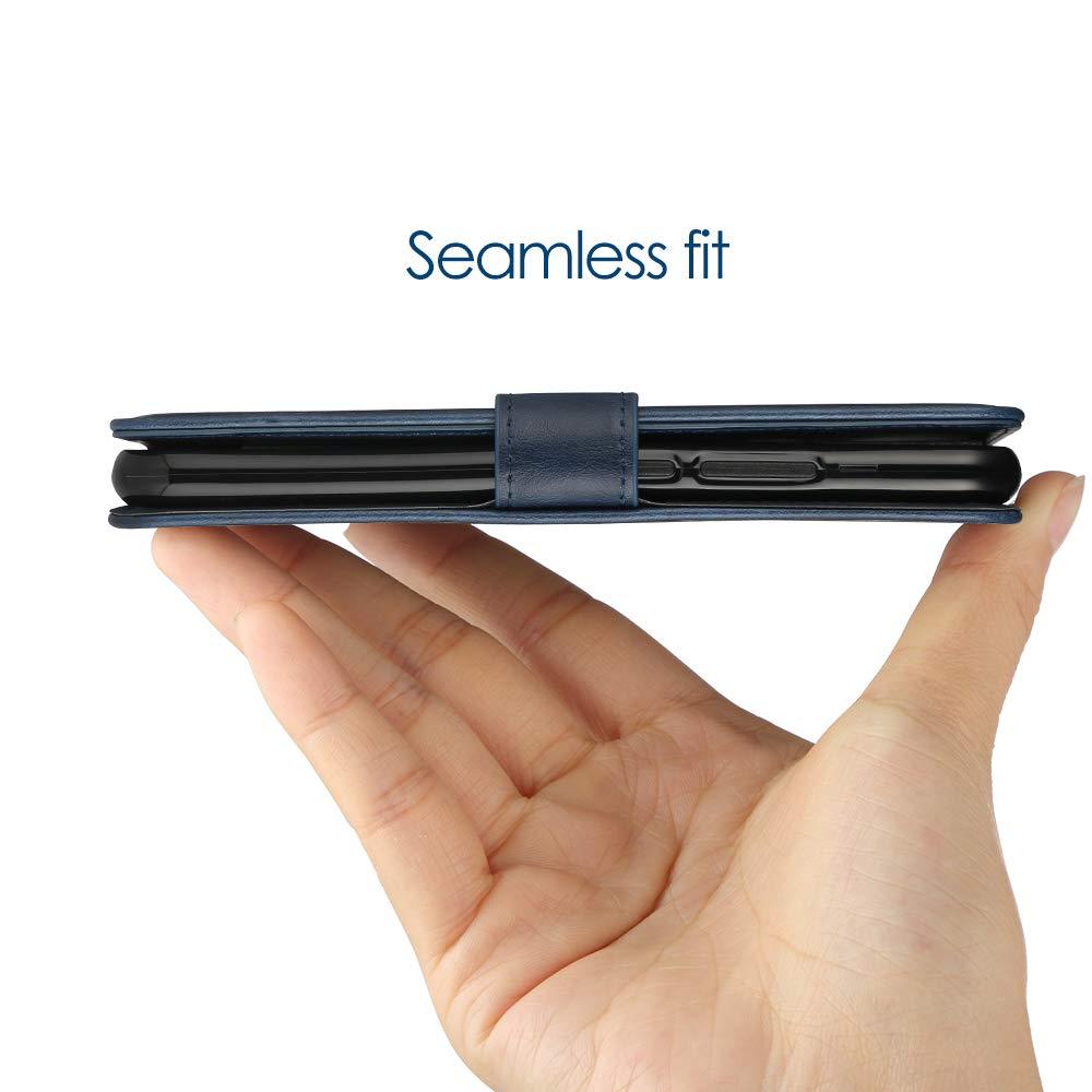 6,3 Zoll Simpeak Ersatz Huawei Mate 20 Lite H/ülle Blau Magnetic Closure Snap Case Cover Mate 20 Lite flipcase Stand Feature Kartensteckpl/ätze