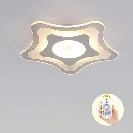 diseño mes estrella Lámpara JINWELL LED LED Plafón Lámpara E2D9HI
