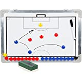 Sport Magnet Board with Marker Pieces - Perfect to Coach Soccer, Basketball, Hockey, and more By Trademark Innovations