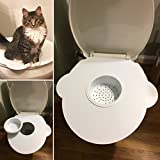 Kitty's Loo Cat Toilet Training Kit/Seat - The BEST Cat Toilet Seat! USA Made!!