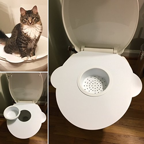 Kitty's Loo, Cat Toilet Training Kit/Seat - The BEST Cat Toilet Seat! USA Made!! -