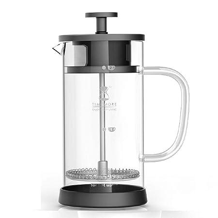 Cafetera Francesa, Negra - Cafetera Espresso de 350 ml de litro ...
