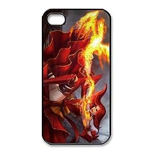 iphone4 4s Black phone case Lina Dota 2 DOT8689410