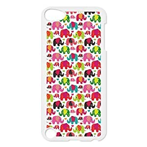 Cute Colorful Elephants Protective Hard PC Back Fits For SamSung Galaxy S3 Case Cover