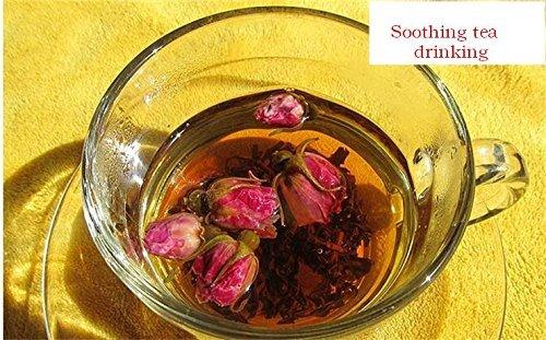 Rose flower mixed with Pu erh tea cake 600 grams