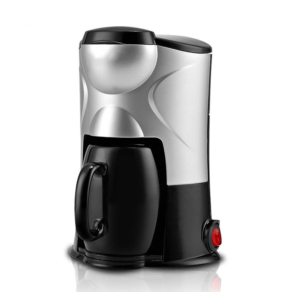 Coffee Maker - Classic Mini Single Cup Coffee Maker For - With Brewing Strength Control, For Personal, Dormitory, Office, (black) by LZPQW