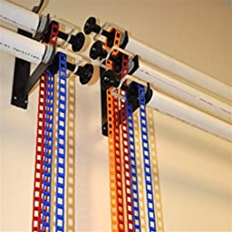 CowboyStudio Photography 3-Roller Wall Mounting Manual Background Support System