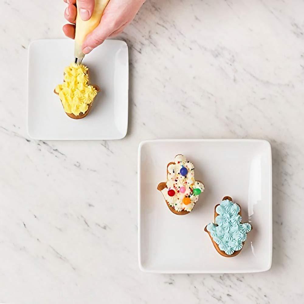 Random Color Hamsa Hand Silicone Mold Hand of Fatima Cake Cupcake Muffin Baking Pan the Hand of God Ice Cube Tray Eye in Khamsah Palm Chocolate Candy Soap Crayon Melts Molds