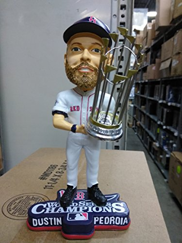 - Dustin Pedroia 2013 World Series Champs Boston Red Sox Bobble Head
