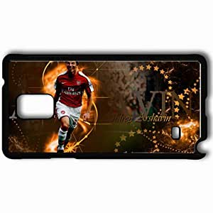 Personalized Samsung Note 4 Cell phone Case/Cover Skin Andrei arshavin by antowka Black